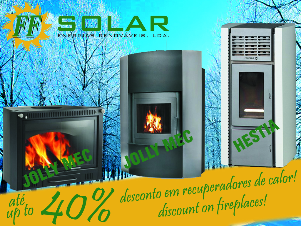 !up to 40% discount on Fireplaces!